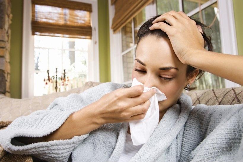 Ülemiste hingamisteede viirustesse haigestunute arv tõuseb endiselt iga nädalaga