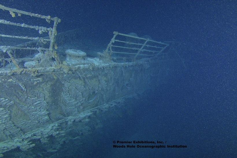Teadlased: Titanicu vrakk võib mikroobide mõjul 20 aasta jooksul täielikult kaduda