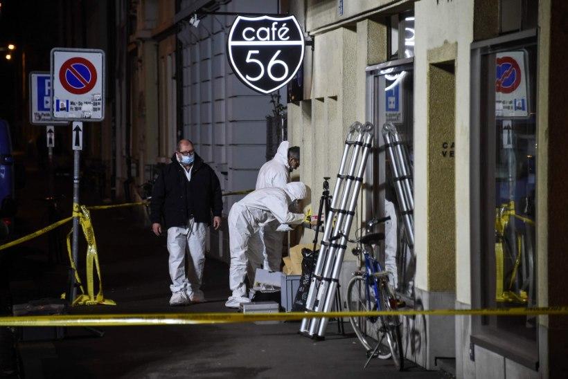 Šveitsis hukkus kohvikutulistamises kaks inimest