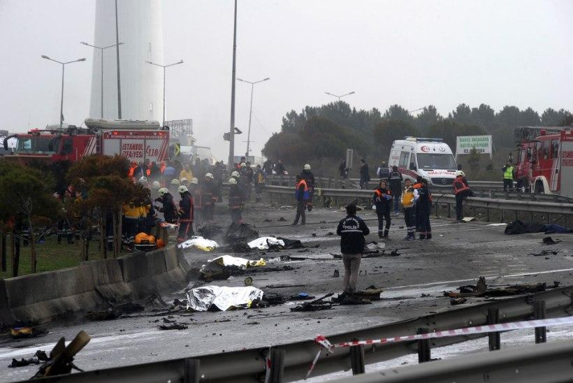 Istanbuli kopteriõnnetuses hukkus neli venelast