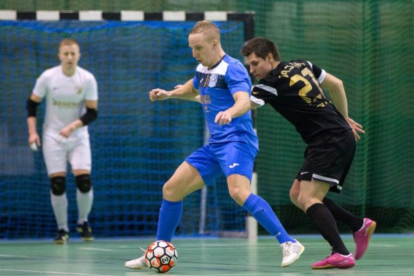 JÄRELEVAADATAV | Narva United alistas põnevusmängus lisaajal FC Cosmose