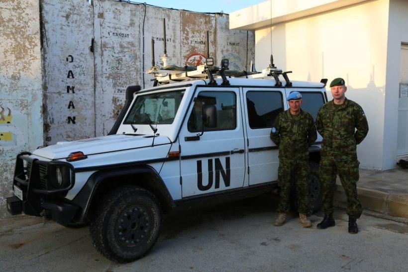 GALERII | President Kaljulaid ja kindral Riho Terras külastasid Liibanonis Eesti rahuvalvajaid