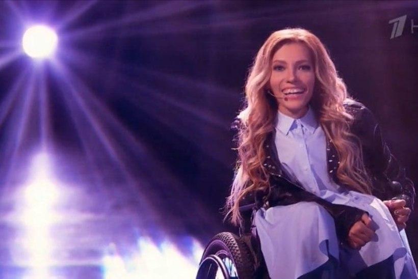 Venemaa saadab Eurovisionile ratastoolis lauljanna