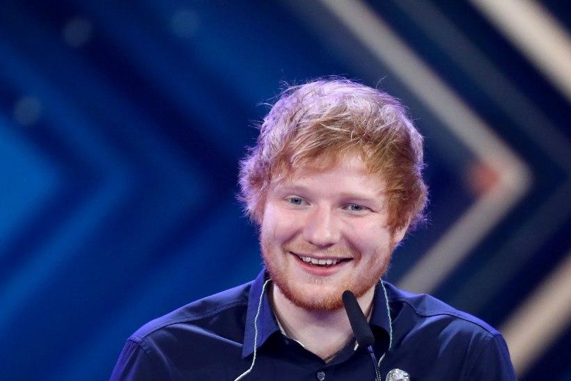 "Ed Sheeran sai rolli ""Troonide mängus"""