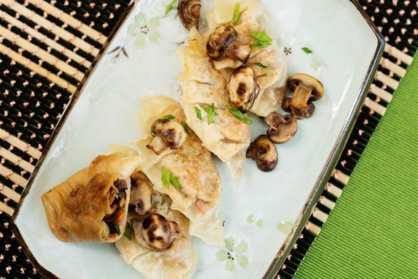 Köögivilja-gyoza'd