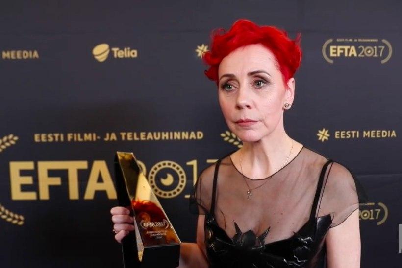 ÕHTULEHE VIDEO | Parim filminäitlejanna Tiina Mälberg: auhinnad on olulised, et uskuda endasse