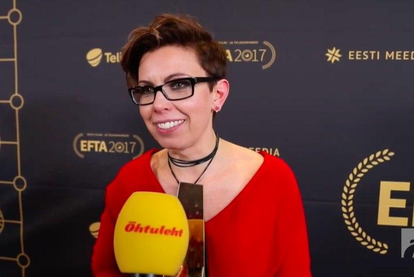 ÕHTULEHE VIDEO | Parima naissaatejuhi auhinna pälvinud Anu Välbal võttis võit sõnad suust!