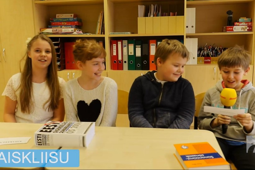 """EMAKEELENÄDALA ERI, I OSA: Väikesed keelehuvilised selgitavad eestikeelseid sõnu: """"Kidakeelne - ma arvan, et see on inimene, kes kiidab kõiki!"""""""