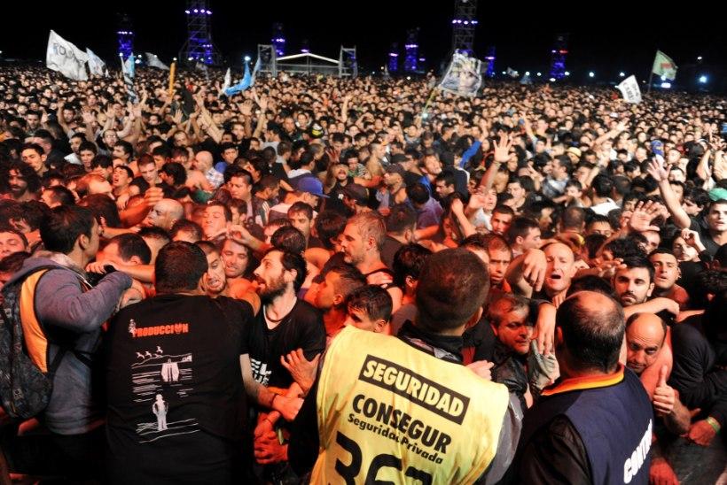 Argentinas toimunud rokk-kontserdil hukkus kaks inimest