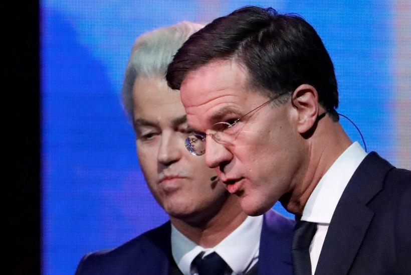 HOLLAND VALIB: Rutte või Wilders?