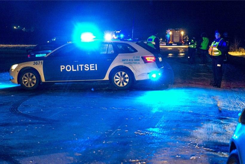 Tapal läksid kaklejad politseinikule kallale