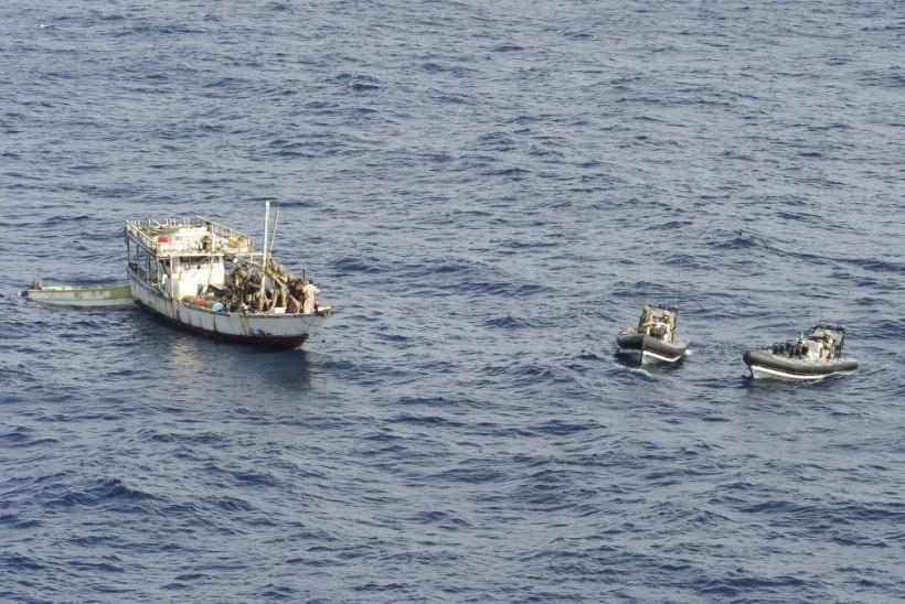 Somaalia piraate kahtlustatakse kaubalaeva kaaperdamises