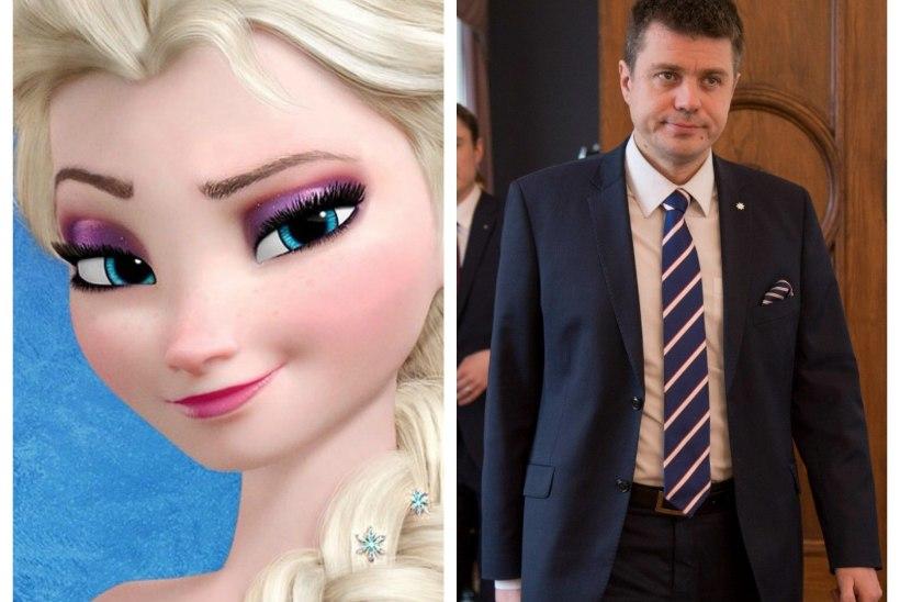 """Urmas Reinsalu reastas Äripäevas Eesti poliitika printsessid! Lumivalgekeseks kroonitud Kristiina Ojuland: """"Peaasi, et pöialpoisid terroristid ei ole!"""""""