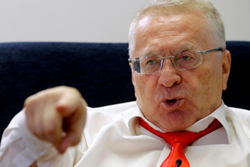 VIDEO | Žirinovski lubas oma vastased üles puua ja maha lasta