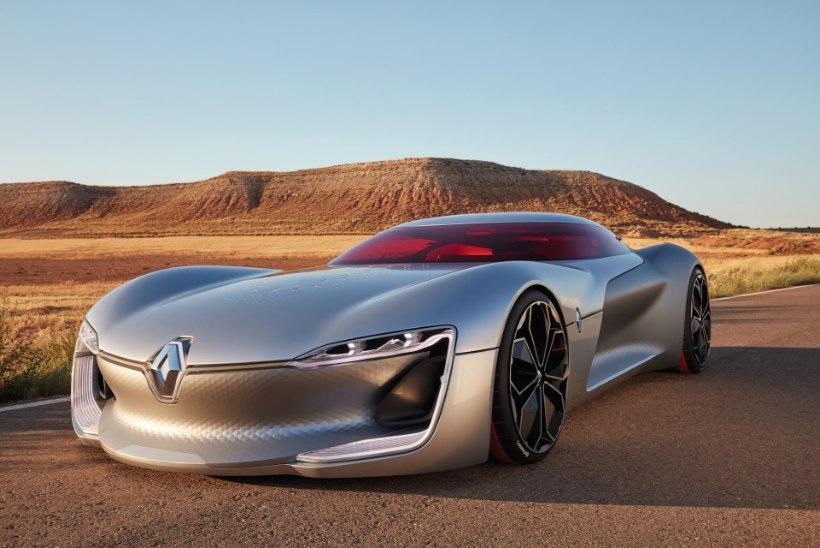 VAATA JA IMETLE: 2016. aasta ilusaimaks ideeautoks hääletati Renault Trezor