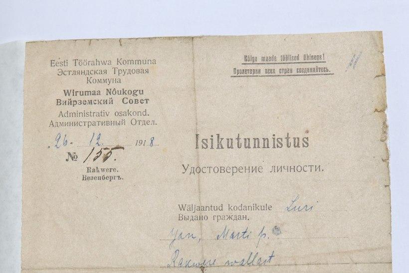 Eestlane ja pass – koos üle 150 aasta