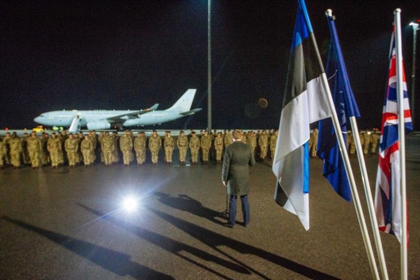 FOTOD | Eestisse saabusid esimesed NATO lahingugrupi kaitseväelased