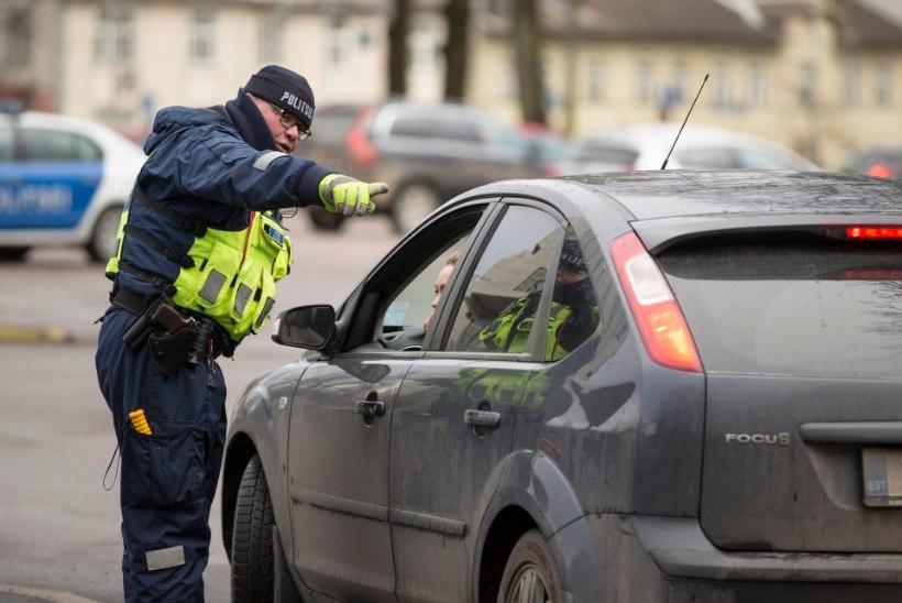 GALERII | Politsei kontrollis Tallinna liiklejaid