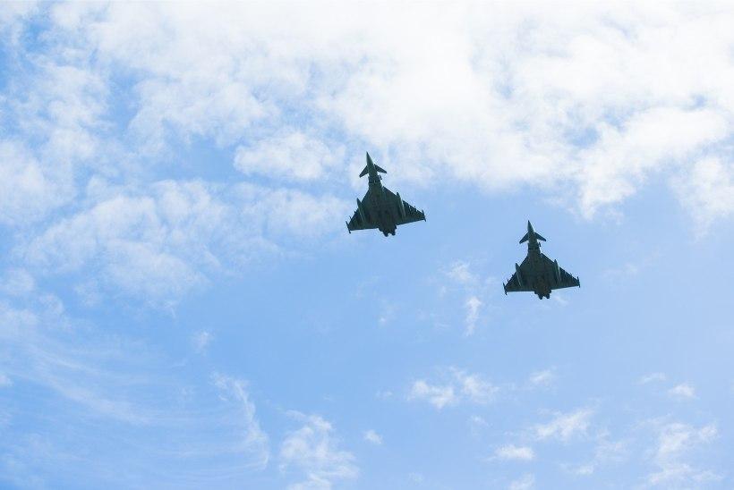 Eurofighterid lendavad madalalt