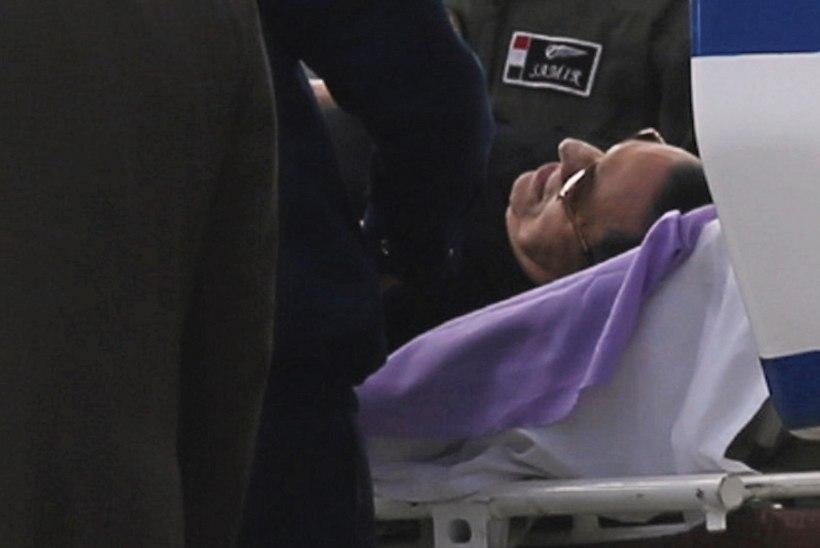 FOTOD | Egiptuse endine president Mubarak mõisteti meeleavaldajate tapmise kohtuasjas õigeks