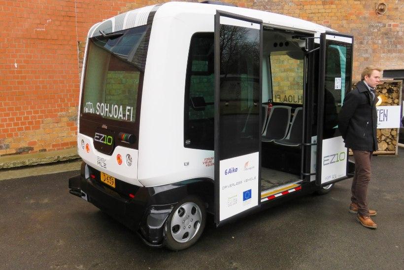 Bussijuhti pole vajagi: Tallinnas hakkavad suvel sõitma isejuhtivad bussid