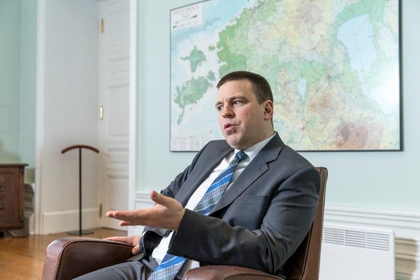 Jüri Ratas: niikaua kuni Keskerakond on valitsuses või riigikogus, ei tule nullkodakondsust ega teist riigikeelt!