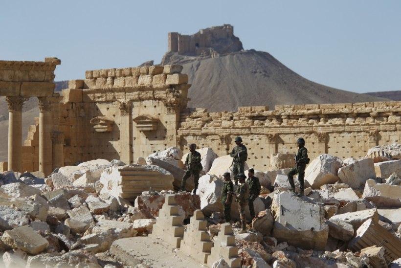 Süüria valitsusväed sisenesid taas Palmyrasse