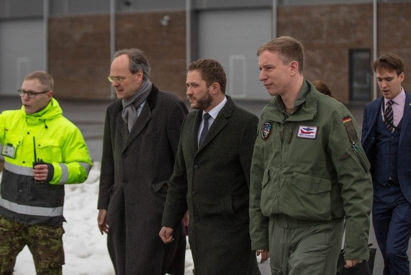 GALERII | Saksa kaitseminister Ursula von der Leyen külastas Ämarit