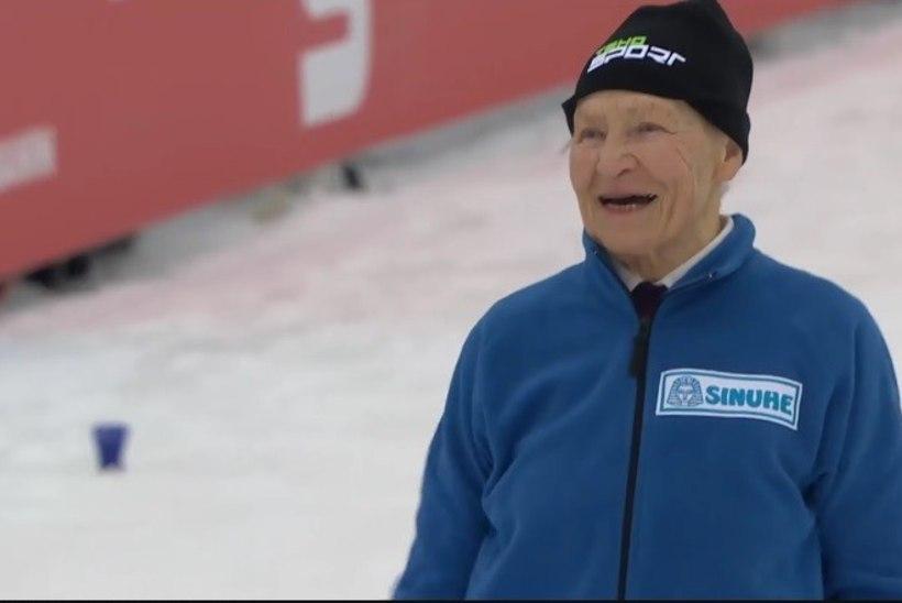 VÄGEV VIDEO | Soome 92aastane suusalegend on rajal jätkuvalt imeline