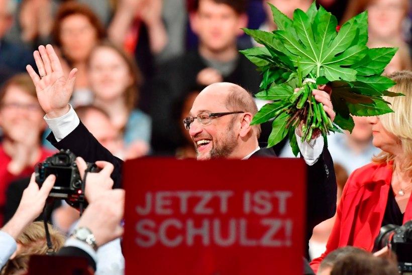 Merkel sai tugeva konkurendi