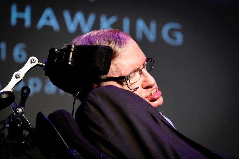 Stephen Hawking: lendan Richard Bransoniga kosmosesse