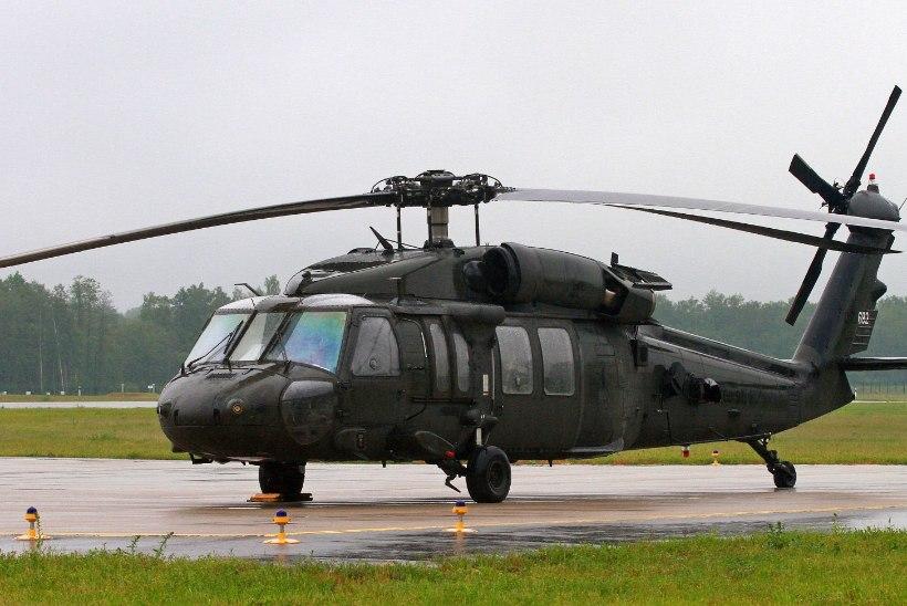 Ühendriikide kopterid Black Hawk osalevad Eestis õppustel