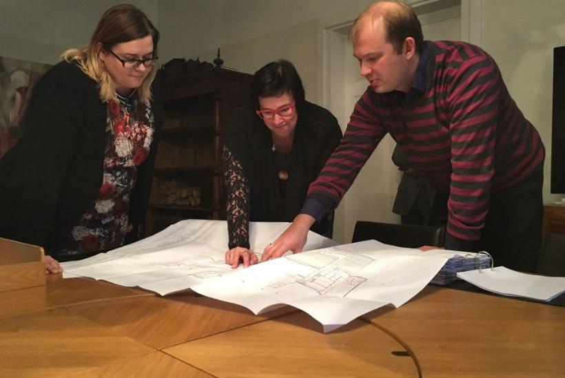 FOTOD   Arhitektid andsid üle sisekaitseakadeemia uue õppehoone põhiprojekti