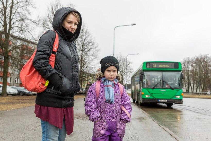 EMA: buss sõitis lapsega minema, mina jäin maha!