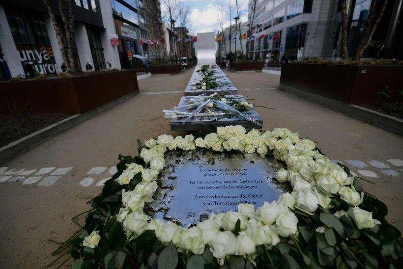 Brüssel mälestas terroriohvreid