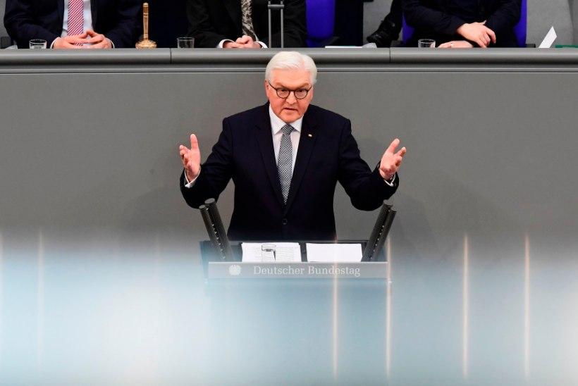 Saksa uus president pidas jõulise kõne