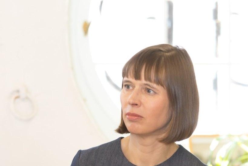 President Kersti Kaljulaidi järelhüüe Lembit Ulfsakile: lahkunud on armastatud näitleja, vaikne Meister