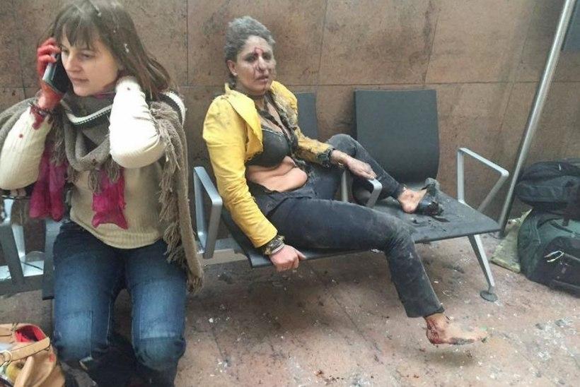NIDHI CHAPHEKARI LUGU: Brüsseli terrorirünnaku näoks saanud naine avaldas ikoonilise foto sünniloo