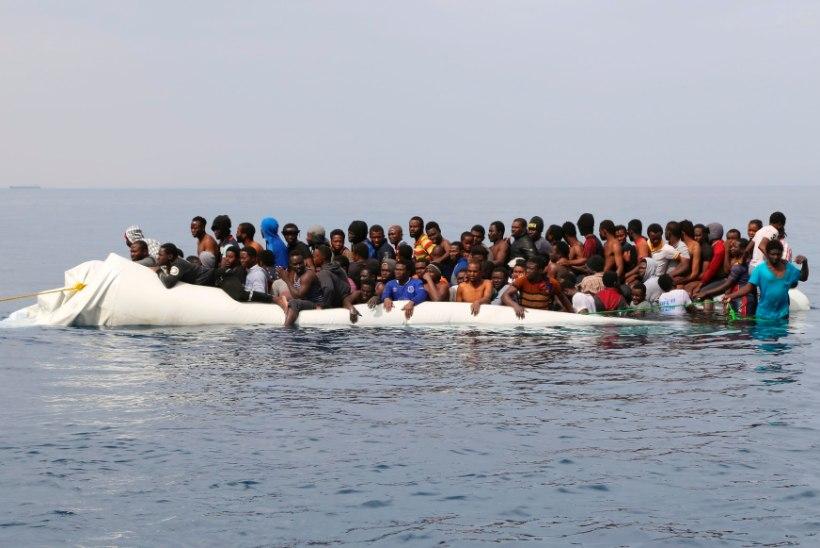 Põgenikevool üle Vahemere kasvab