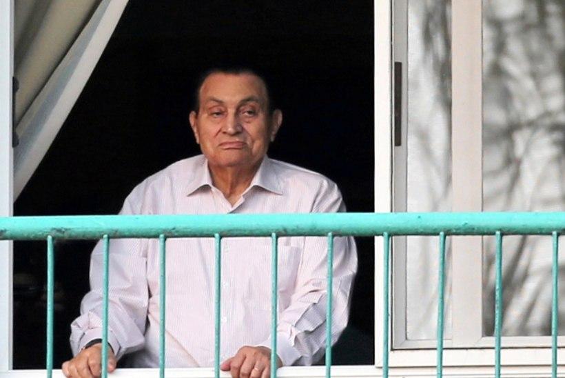 Põdur Hosni Mubarak naudib vabadust