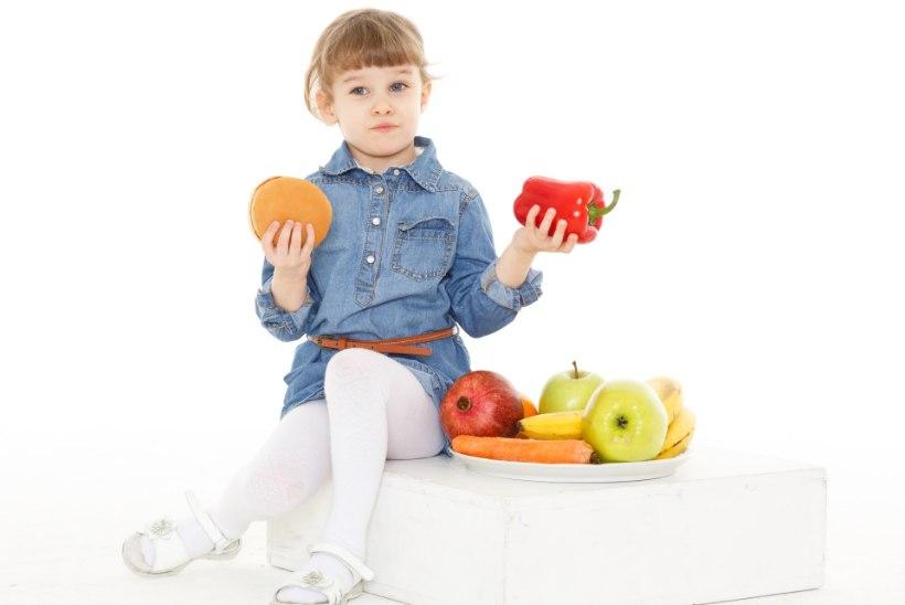 Kuidas lapsi tervislikult toituma õpetada?