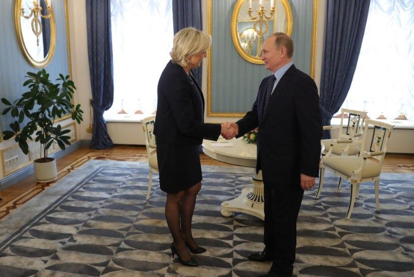 FOTOD | Marine Le Pen kohtus täna Vladimir Putiniga