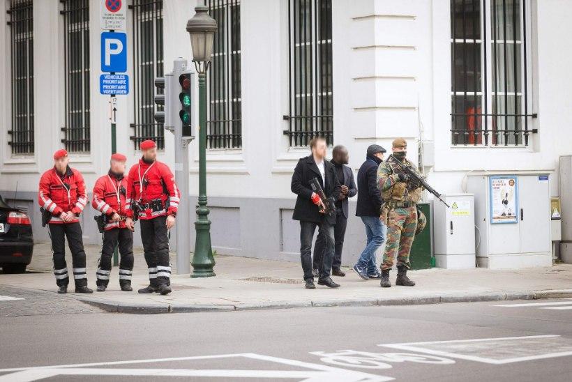Antwerpenis inimesi rünnata üritanud mehele esitati terrorismisüüdistus