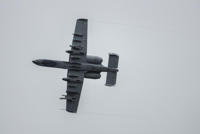 Liitlaste lennukid harjutavad taas Eesti õhuruumis