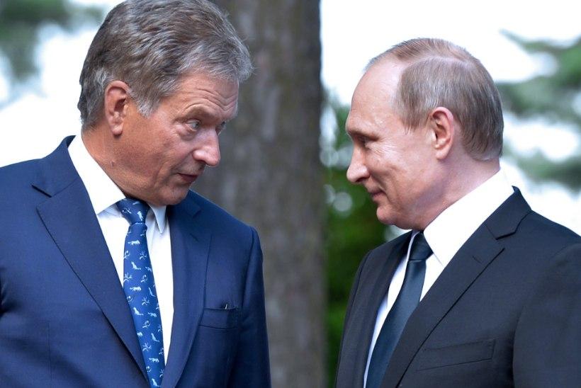 Soome president kohtub taas Putiniga