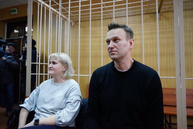 Kohus määras Navalnõile 15 päeva aresti