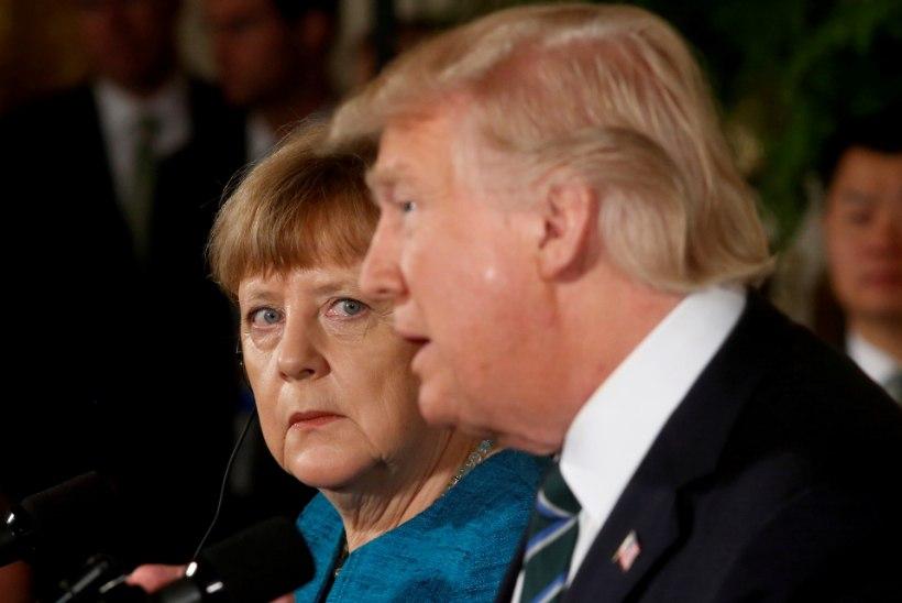 Trump esitas Merkelile arve, mille kohaselt võlgneb Saksamaa NATO-le ligi 346 miljardit eurot