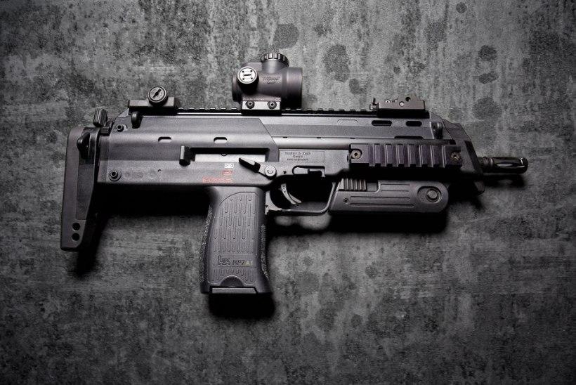 Põlvkonnavahetus Saksamaa politseis: püstolkuulipilduja MP7