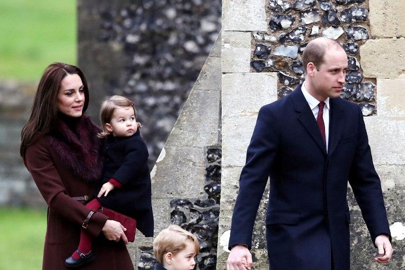 Prints William eiras pojale kooli valides kuninglikku traditsiooni