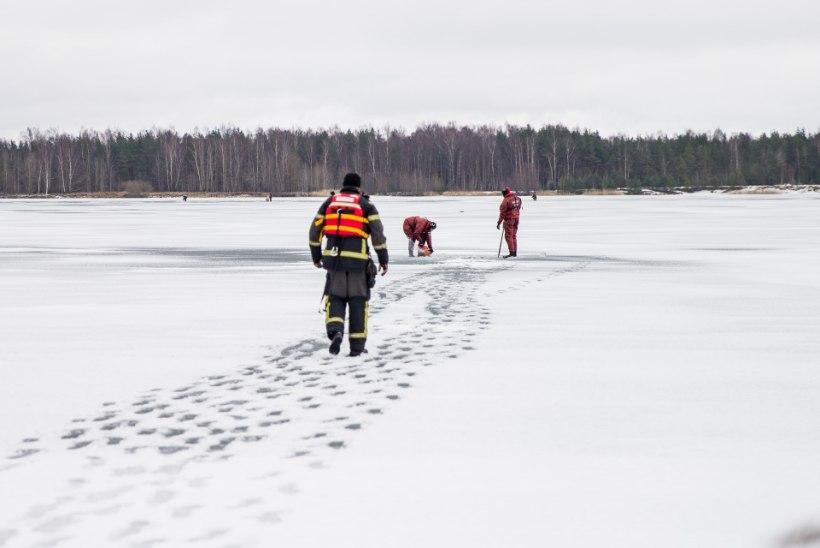 Harku järvel uppus kalamees